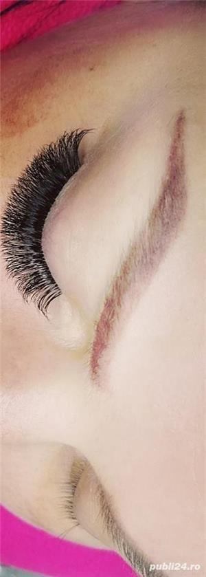 #  Extensii  Gene # Make-Up Profesional # Microblading Sprancene - imagine 7