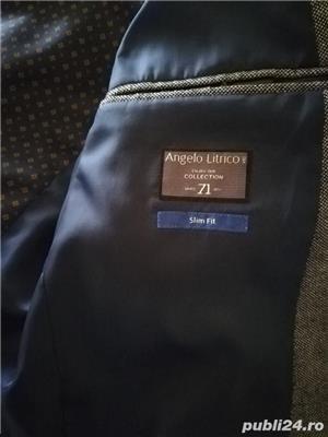 Sacou bărbați Angelo Litrico Slim Fit mărime 52 - imagine 2