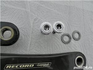 Angrenaj (pedalier) carbon Campagnolo Record compact 50-34  - imagine 2
