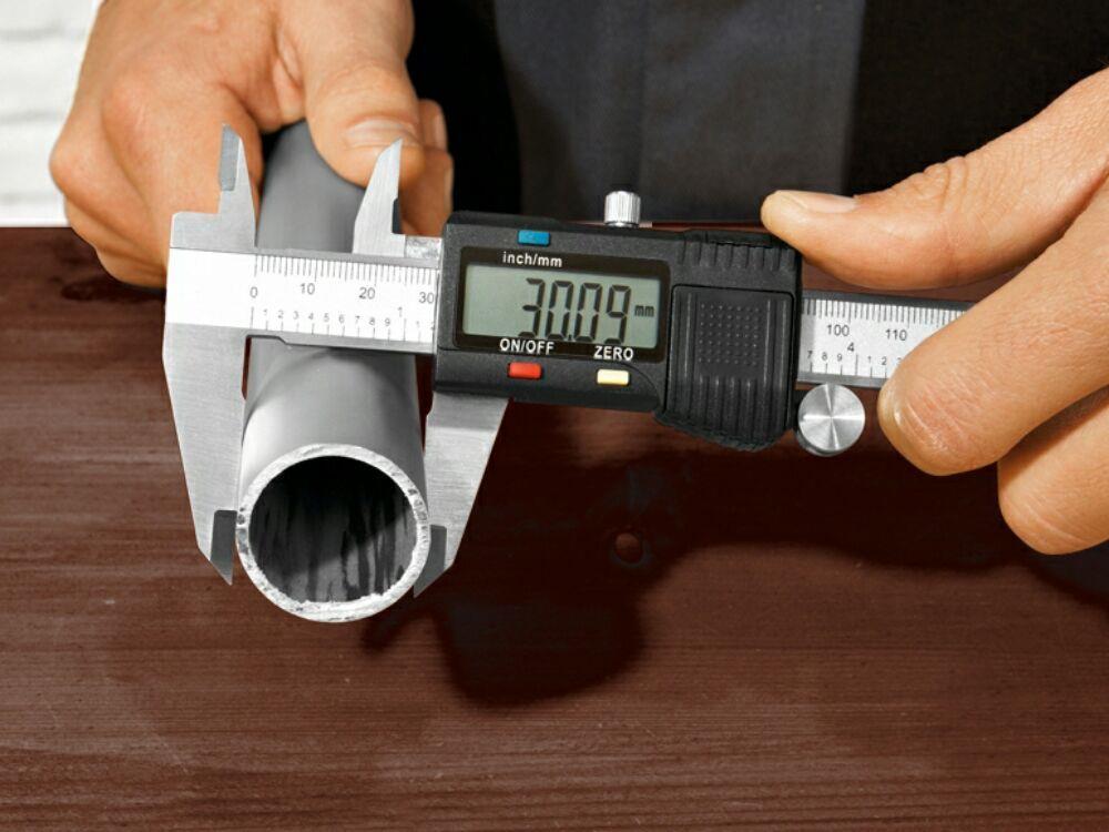 Subler Digital din otel inoxidabil Powerfix 150 mm - imagine 10