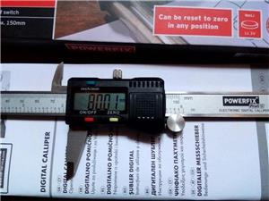 Subler Digital din otel inoxidabil Powerfix 150 mm - imagine 4