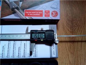 Subler Digital din otel inoxidabil Powerfix 150 mm - imagine 5