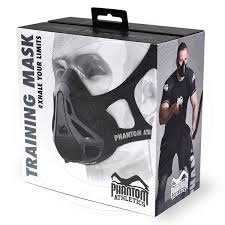 Phantom Mask, masca antrenament, cardio, gym - imagine 1