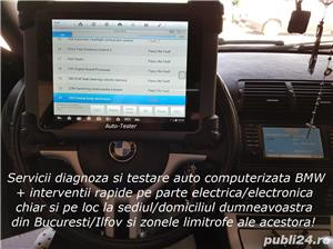 Diagnoza Mini & BMW testare cu tester auto + service rapid reparatii electrica la domiciliu - imagine 3