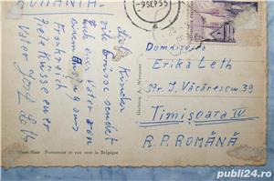 carte postala din al Doilea Razboi Mondial cu buncare naziste foarte rara - imagine 2