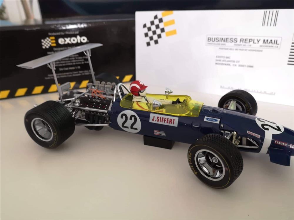 Exoto Lotus Type 49B 1968 world Champion J.Siffer #22 - imagine 3