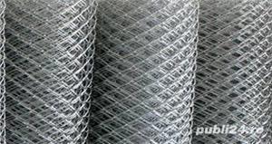 Plasa de gard impletita si sudata 1,5m inaltime 20m lungime 110lei - imagine 1