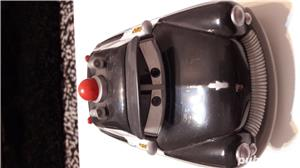 Colectie Disdey/Pixar,masina Sheriff,plastic rezistent,gri inchis, - imagine 1