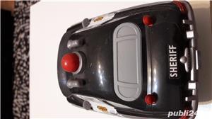 Colectie Disdey/Pixar,masina Sheriff,plastic rezistent,gri inchis, - imagine 3