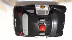 Colectie Disdey/Pixar,masina Sheriff,plastic rezistent,gri inchis, - imagine 4