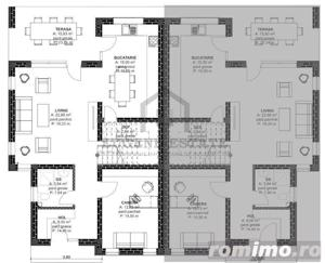 Duplex 128mp utili 335mp teren proprietate pretabila pentru locuit - imagine 4