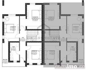 Duplex 128mp utili 335mp teren proprietate pretabila pentru locuit - imagine 5
