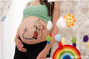 Pictură pe burtici de gravide - imagine 3
