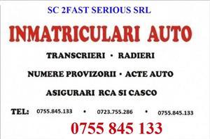 Agenție Inmatriculări AUTO, Transcrieri, Radieri, Numere rosii provizorii vehicule Timis, Timișoara  - imagine 3
