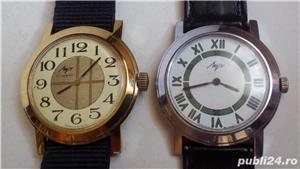 2 ceasuri mecanice LUCH, stare excelentă, funcţionale - imagine 1