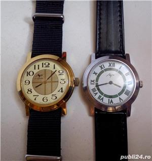 2 ceasuri mecanice LUCH, stare excelentă, funcţionale - imagine 2