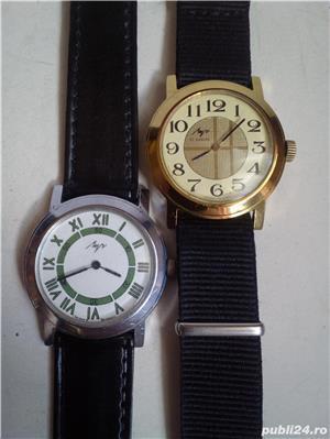 2 ceasuri mecanice LUCH, stare excelentă, funcţionale - imagine 4
