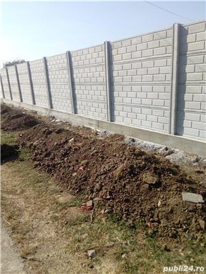 construim garduri,montam garduri din placi de beton - imagine 10