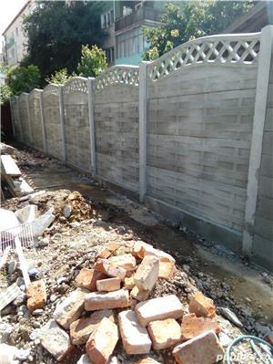 construim garduri,montam garduri din placi de beton - imagine 9