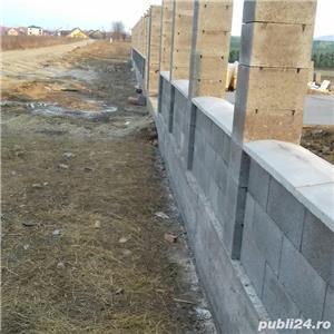 construim garduri,montam garduri din placi de beton - imagine 7