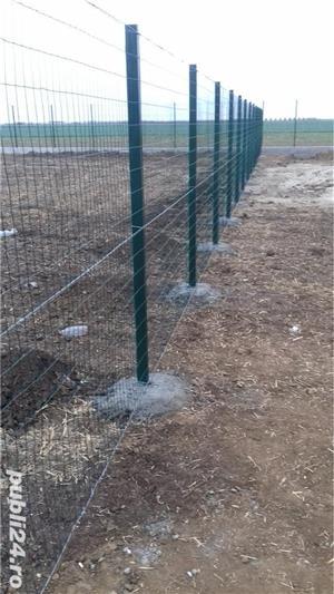 construim garduri,montam garduri din placi de beton - imagine 12