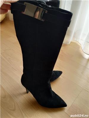 Vand cizme din piele intoarsa pentru femei marimea 39 - imagine 2