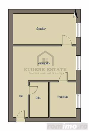 Locuinta cu 2 camere la pret de apartament cu o camera, in zona Dacia - imagine 2