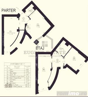 Penthouse modern amenajat, 88mp utili, zona Dorobantilor - imagine 11