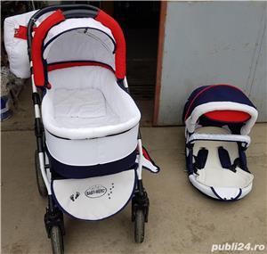 Carucior copii Baby Merc Q9 (2 in 1) - imagine 2
