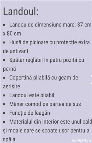 Carucior copii Baby Merc Q9 (2 in 1) - imagine 4