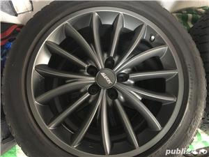 Jante ALUTEC 18 Inchi AUDI Et45 8,5Jx18H2 + anvelope iarna Bridgestone - imagine 4