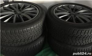 Jante ALUTEC 18 Inchi AUDI Et45 8,5Jx18H2 + anvelope iarna Bridgestone - imagine 5