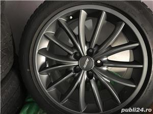 Jante ALUTEC 18 Inchi AUDI Et45 8,5Jx18H2 + anvelope iarna Bridgestone - imagine 2