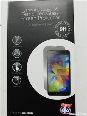 Folie sticla pt Samsung S5.  - imagine 3