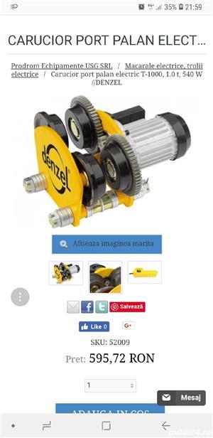 Troliu electric.+carucior portpalan electric - imagine 4