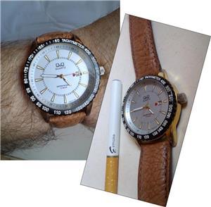 Ceas barbatesc Q&Q A450J, purtat ocazional, functional - imagine 1
