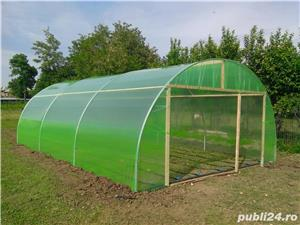 solar legume si flori 28 m lungime /4 m deschidere/ 2,6 m inaltime - imagine 8