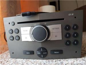 Radio modificat ptr.aux in/jack stereo opel corsa,astra,vectra,zafira - imagine 1