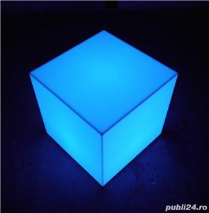 Cuburi led luminoase de vanzare - imagine 3