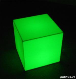 Cuburi led luminoase de vanzare - imagine 2
