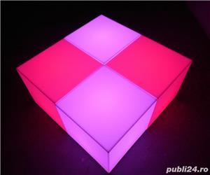 Cuburi led luminoase de vanzare - imagine 4