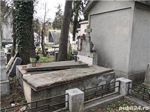 Loc de veci,cripta (6 locuri) Cimitirul Bellu - imagine 3