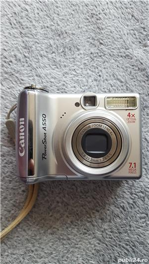 Camera foto Canon PowerShot A550 - imagine 1