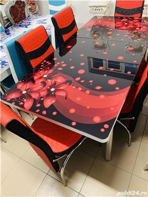 Masa cu scaune Extensibila - imagine 14