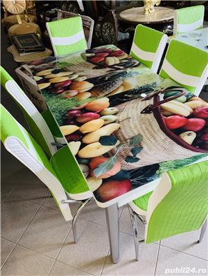 Masa cu scaune Extensibila - imagine 16