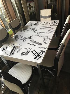 Masa cu scaune Extensibila - imagine 11