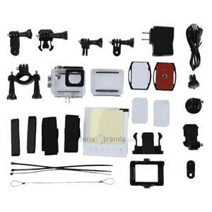 Action Camera 4k la 30 fps senzor de 16 MP,Asemanator GoPro Hero SJCAM - imagine 2