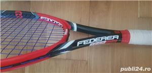 Rachete tenis WILSON Federer Team , BABOLAT Drive 105  - imagine 2