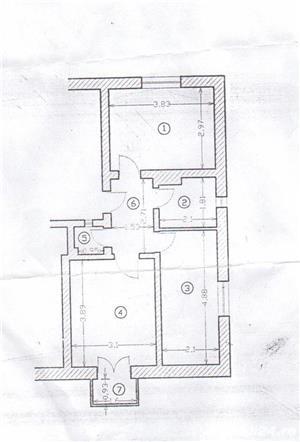 Apartament in casa cu teren  zona Gara- Centru    - imagine 9