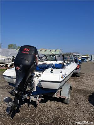 Vand barca + motor + peridoc - imagine 3